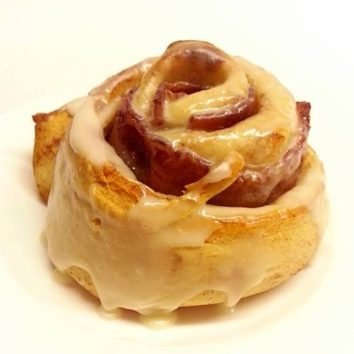 Finished Cinnamon Roll!