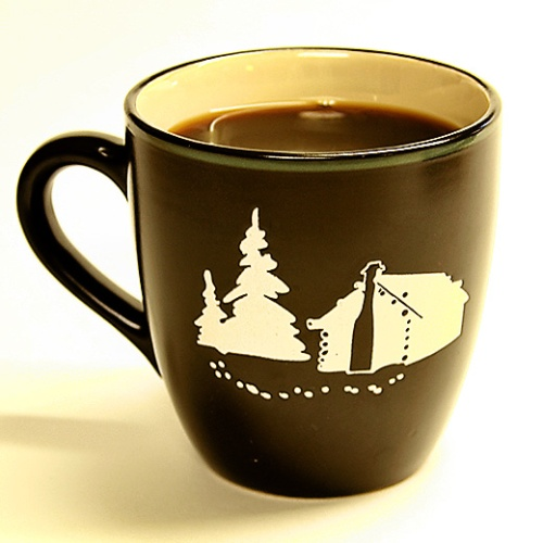 Camping and Coffee...I want to go now...